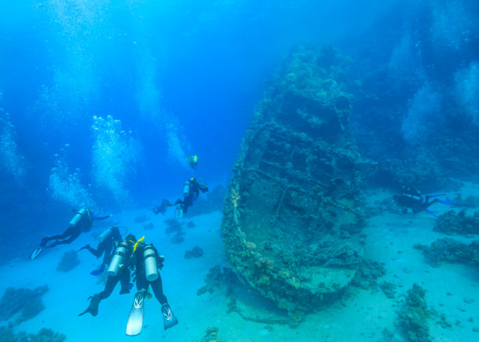 Wreck Diving in Puerto Morelos